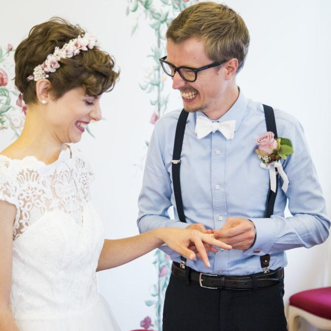 Hochzeit, ringe tauschen