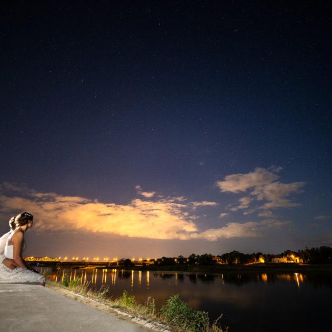 hochzeit, schönebeck, nachthimmel