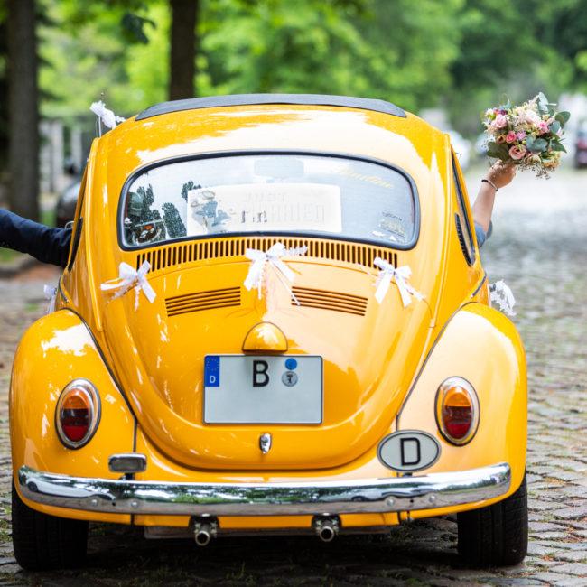 VW Käfer, hochzeit, berlin